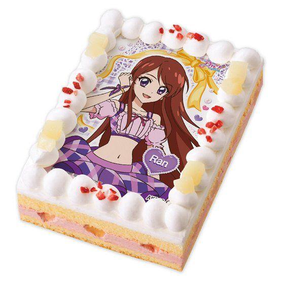 キャラデコプリントケーキ アイカツ! 紫吹 蘭【2017年3月下旬発送】