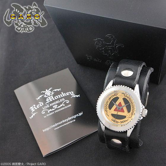 牙狼<GARO> × Red Monkey Designs Collaboration Wristwatch GOLD