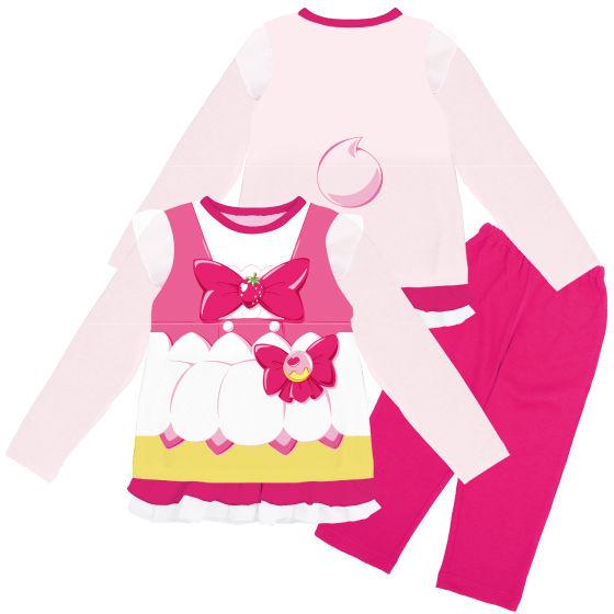 キラキラ☆プリキュアアラモード 変身長袖パジャマ キュアホイップ