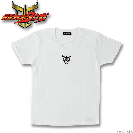 仮面ライダークウガ クウガマークTシャツ(ホワイト)