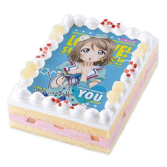 キャラデコプリントケーキ ラブライブ!サンシャイン!! 渡辺曜【2017年4月上旬発送】