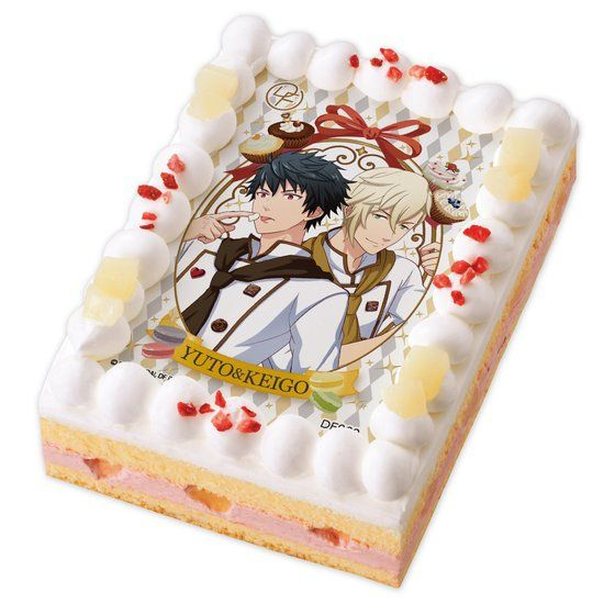 キャラデコプリントケーキ ドリフェス! KUROFUNE YUTO&KEIGO【2017年4月上旬発送】