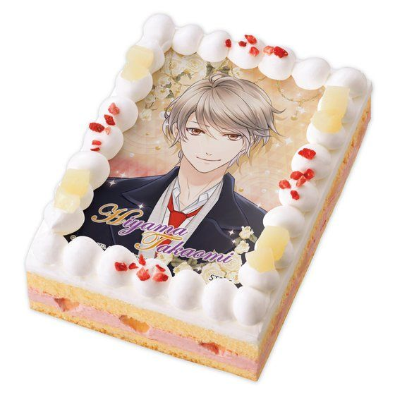 キャラデコプリントケーキ スタンドマイヒーローズ 桧山 貴臣【2017年4月上旬発送】