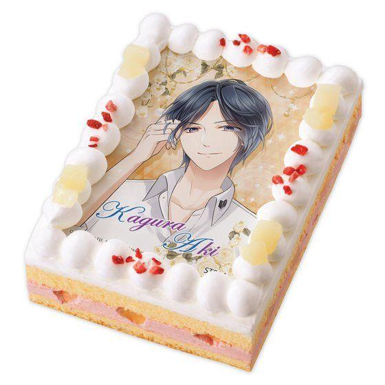 キャラデコプリントケーキ スタンドマイヒーローズ 神楽 亜貴【2017年4月上旬発送】