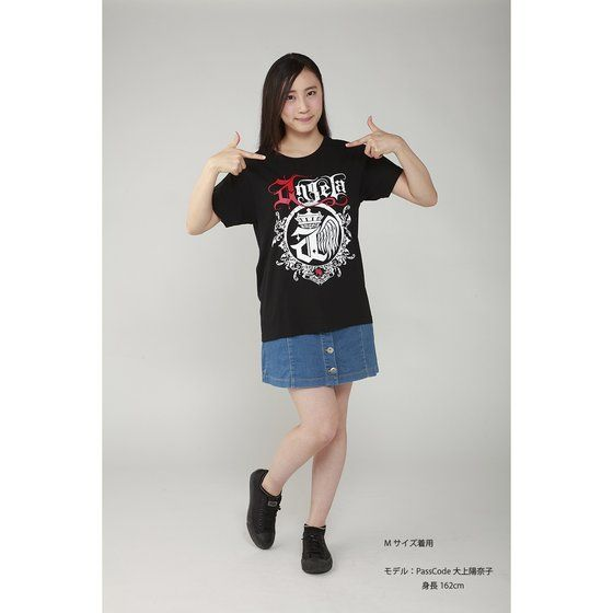 Musikleidung angela Tシャツ 黒