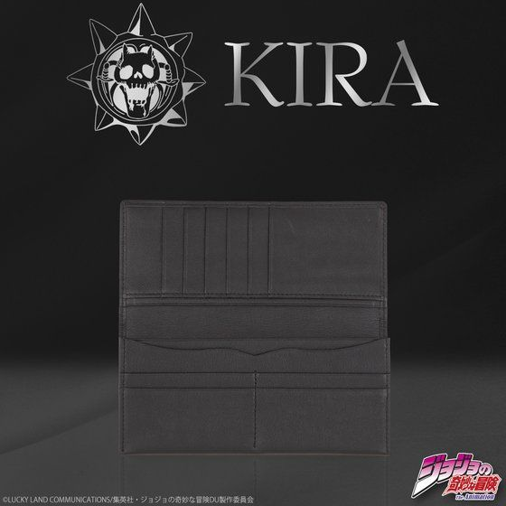 吉良吉影 KIRA's ロングウォレット(小銭入れなし)【2017年6月発送分】