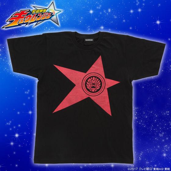 宇宙戦隊キュウレンジャー 「シシレッド」なりきり風デザインTシャツ