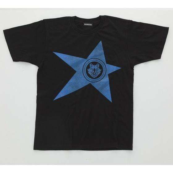 宇宙戦隊キュウレンジャー 「オオカミブルー」なりきり風デザインTシャツ