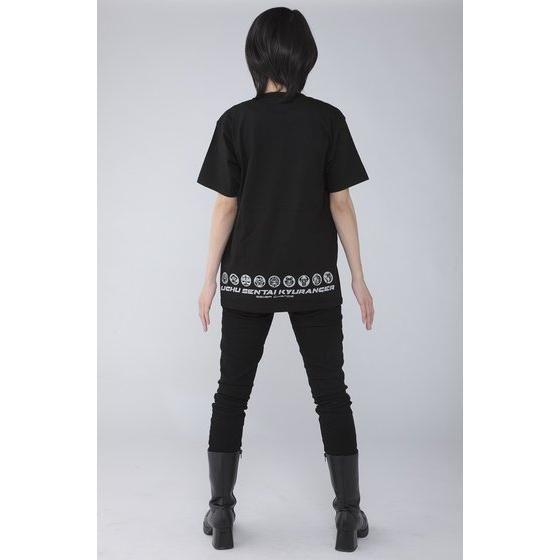 宇宙戦隊キュウレンジャー 「ヘビツカイシルバー」なりきり風デザインTシャツ
