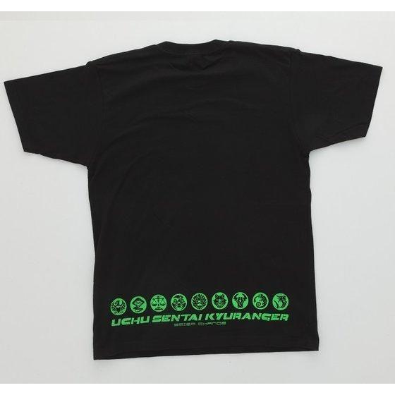 宇宙戦隊キュウレンジャー 「カメレオングリーン」なりきり風デザインTシャツ
