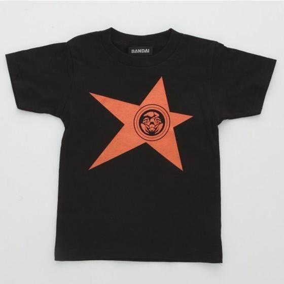 宇宙戦隊キュウレンジャー 「サソリオレンジ」なりきり風デザインTシャツ こども用