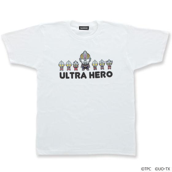ウルトラマンオーブ&ウルトラヒーロー デフォルメTシャツ( Pallel柄) 大人用
