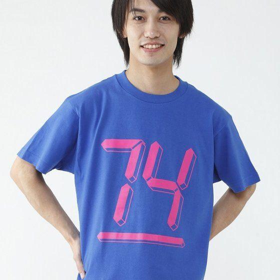仮面ライダーエグゼイド 宝生永夢 Tシャツ 74柄(ブルー)