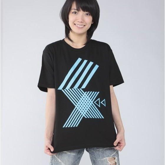 仮面ライダーエグゼイド 宝生永夢 Tシャツ 幾何学柄 ブラック