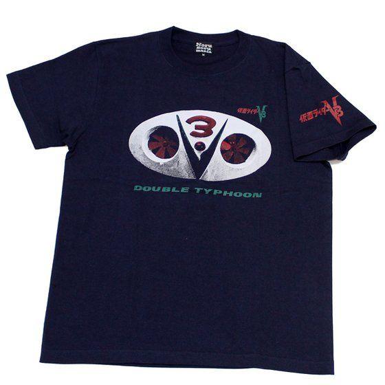 仮面ライダー×ノルソルマニア コラボTシャツ 仮面ライダーV3ベルト柄
