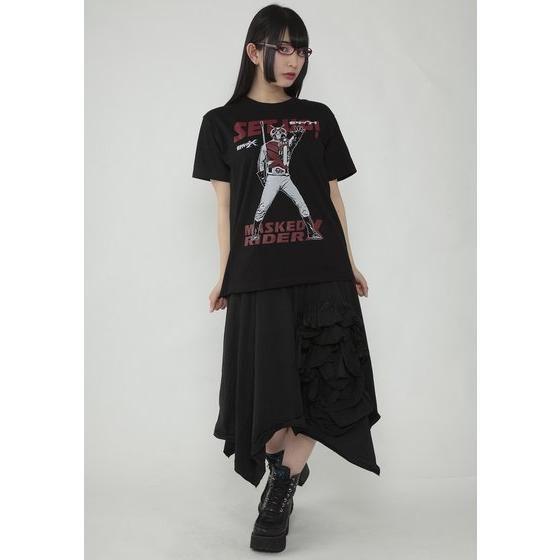 仮面ライダー×ノルソルマニア コラボTシャツ 仮面ライダーX セタップ!柄