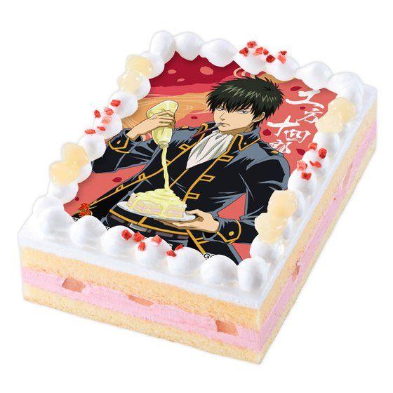 キャラデコプリントケーキ 銀魂 土方十四郎