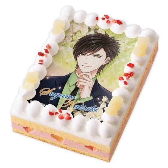 キャラデコプリントケーキ スタンドマイヒーローズ 菅野 夏樹