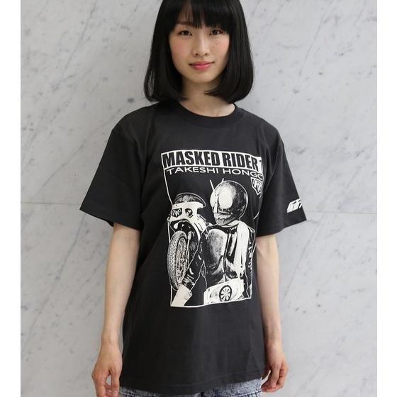 仮面ライダー×ノルソルマニア コラボTシャツ(仮面ライダー1号柄)