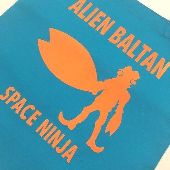 ウルトラマンシリーズ バルタン星人 シルエットトートバッグ