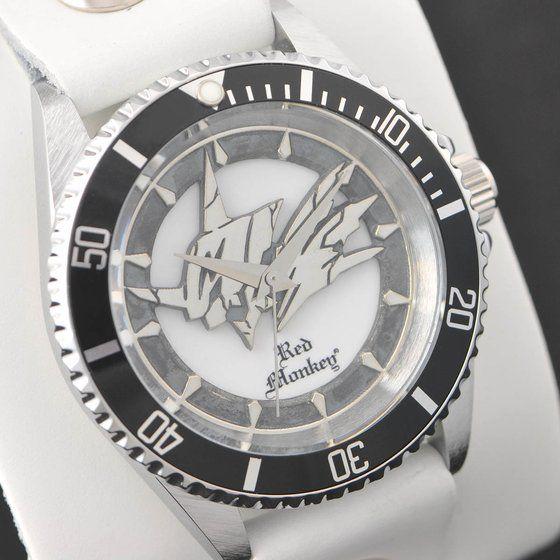 デジモンアドベンチャー OMEGAMON× Red Monkey Designs Collaboration Wristwatch Silver925 High-End Model White(初回限定)