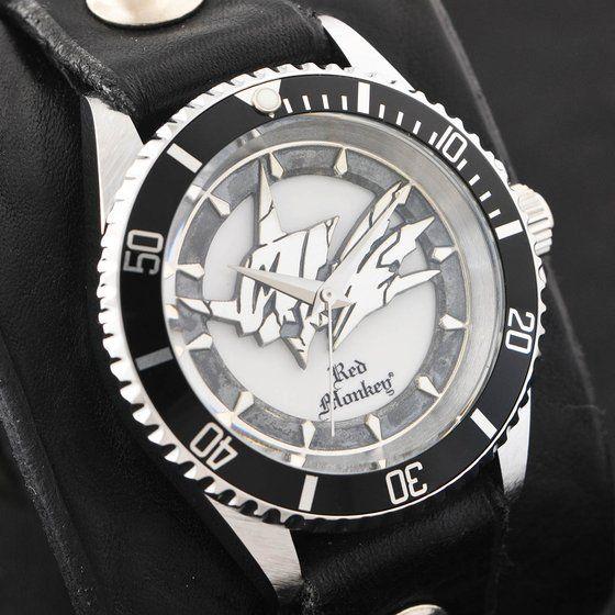 デジモンアドベンチャー OMEGAMON× Red Monkey Designs Wristwatch Silver925 High-End Model Black【2017年9月発送】