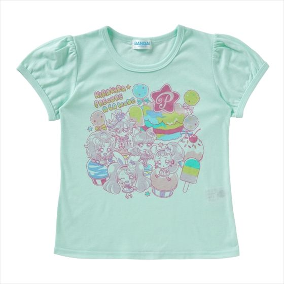 キラキラ☆プリキュアアラモード Tシャツセレクション ゆめかわいいA