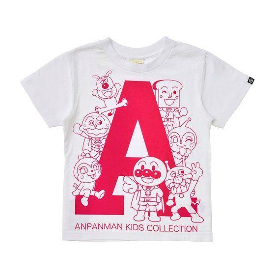 グラフィックTシャツ アルファベットA柄