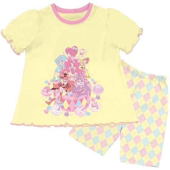 キリンミルクレープ付き半袖Tスーツパジャマ