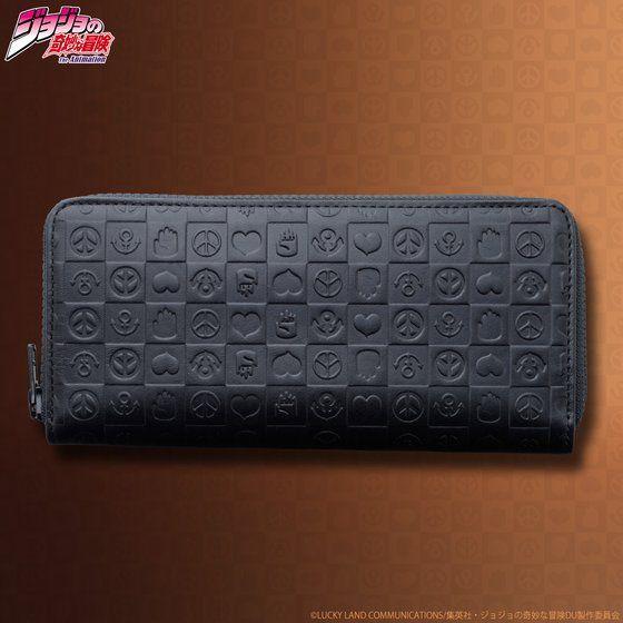 プレミアムバンダイ新着!JOJO's wallet series レザーウォレット(ラウンド財布)