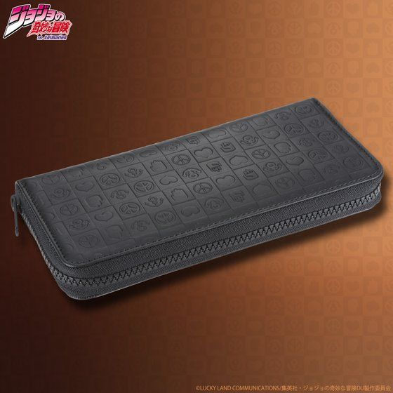 JOJO's wallet series レザーウォレット(ラウンド財布)