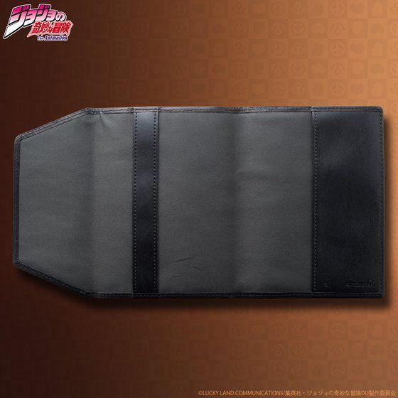 JOJO's wallet series レザーブックカバー
