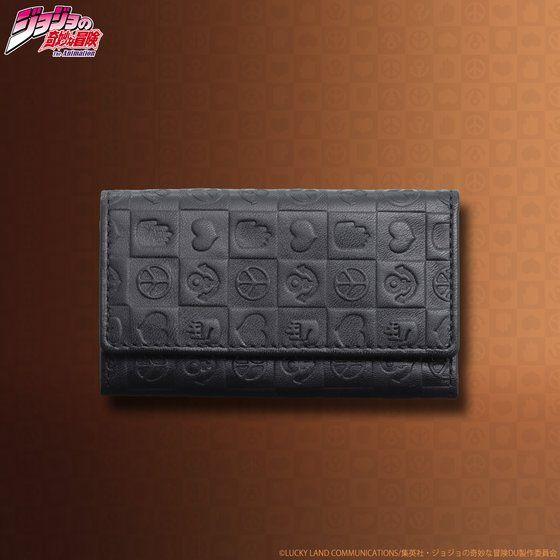 プレミアムバンダイ新着!JOJO's wallet series レザーキーケース グッズ新着情報