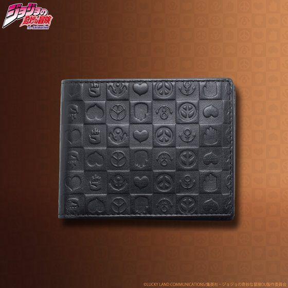 プレミアムバンダイ新着!JOJO's wallet series レザーウォレット(ハーフ) 新作グッズ情報