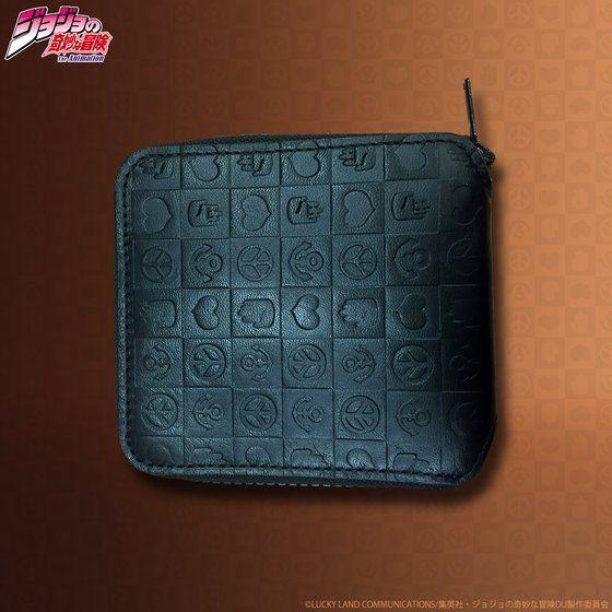 プレミアムバンダイ新着!JOJO's wallet series レザーウォレット(ラウンドハーフ) 新作グッズ予約速報