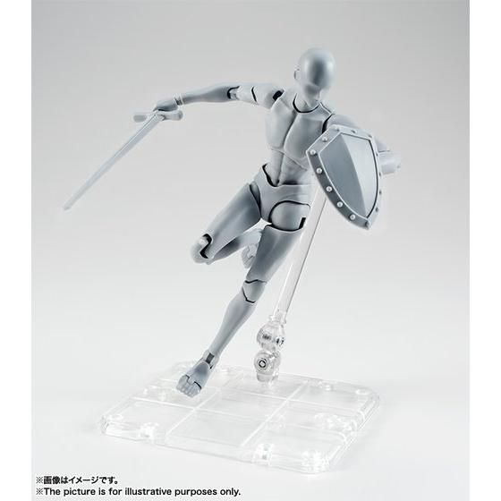 S.H.Figuarts ボディくん -宝井理人- Edition DX SET (Gray Color Ver.)