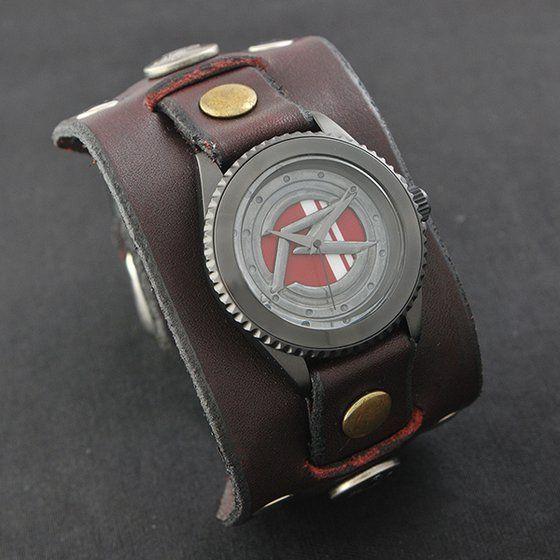 仮面ライダーハート × Red Monkey Designs Collaboration Wristwatch Silver925 High-End Model