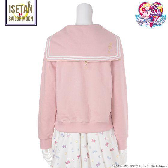 【BURNEDESTROSEコラボ】美少女戦士セーラームーン 刺繍パーカー