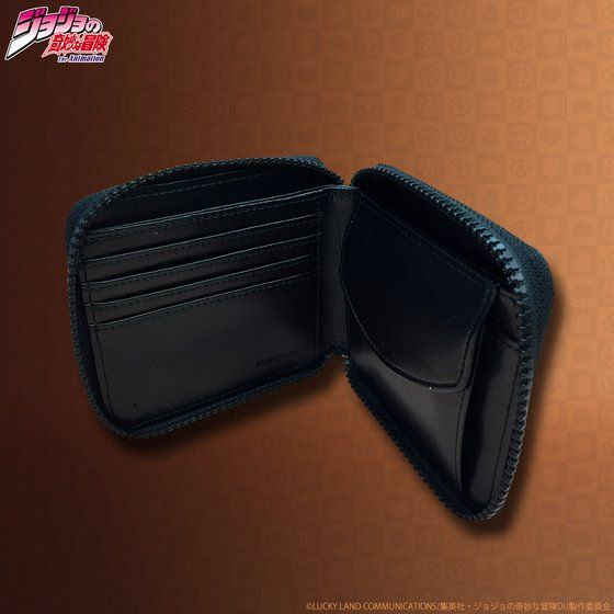 JOJO's wallet series レザーウォレット(ラウンドハーフ)【2017年9月発送分】
