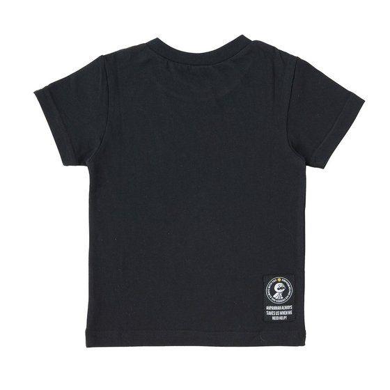 グラフィックTシャツ スプレー柄