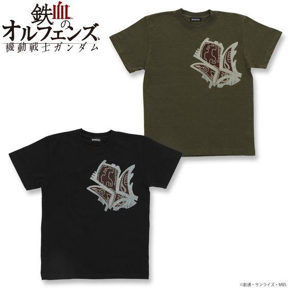 機動戦士ガンダム 鉄血のオルフェンズ 鉄華団落書き柄 Tシャツ