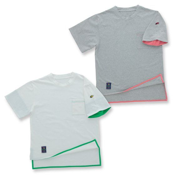 TIGER & BUNNY モックネックTシャツ 【SOURCES GRIFFIN】