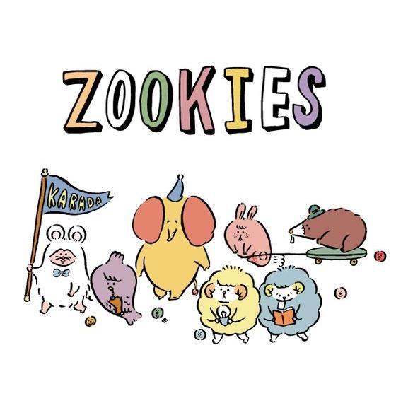 Zookiesマスコット メモリープ