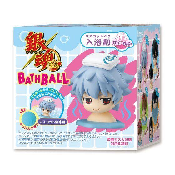 【4個入り】Oh!−egg 銀魂 BATHBALL