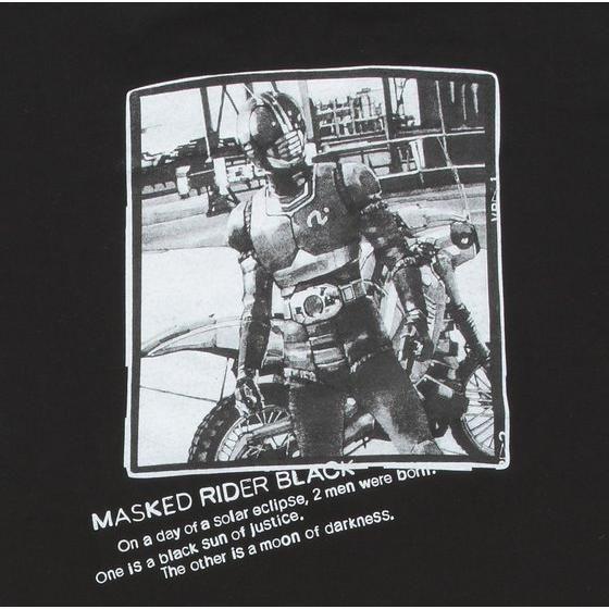 『菅原芳人計画』仮面ライダーBLACK 20th Century Tシャツ