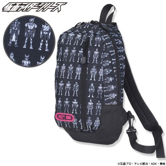 仮面ライダーシリーズ ゲーマドライバーアイコン柄 ワンショルダーバッグ