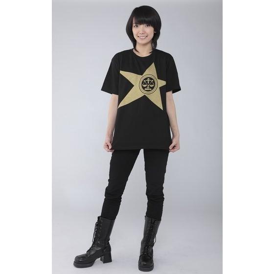 宇宙戦隊キュウレンジャー 「テンビンゴールド」なりきり風デザインTシャツ【2次受注】
