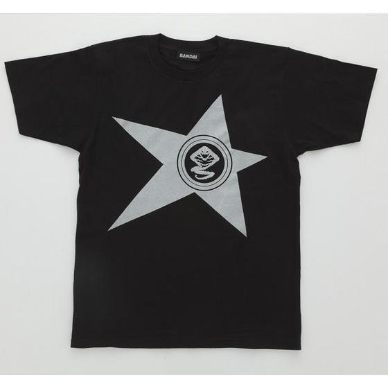宇宙戦隊キュウレンジャー 「ヘビツカイシルバー」なりきり風デザインTシャツ 【2次受注】