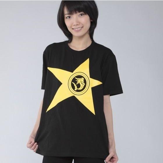 宇宙戦隊キュウレンジャー 「カジキイエロー」なりきり風デザインTシャツ【2次受注】