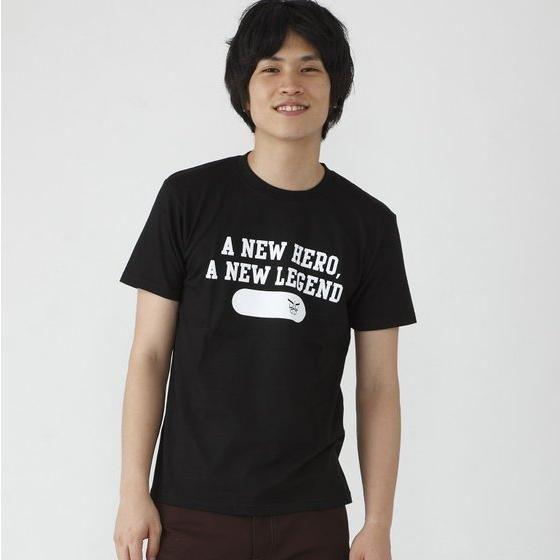 仮面ライダークウガ  A NEW HERO,A NEW LEGENDロゴTシャツ